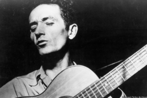 The tragic real-life story of Woody Guthrie