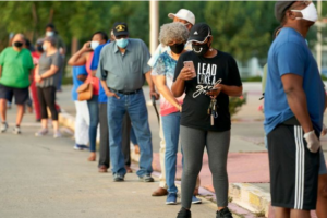 US election 2020: World reaction to long queues of voters in US