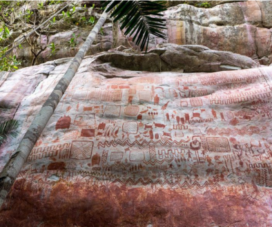 Tens of Thousands of 12,000-Year-Old Rock Paintings Found in Colombia